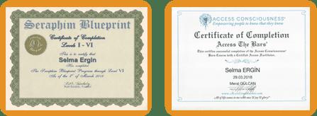 Selma Ergin | Eğitim Sertifikaları
