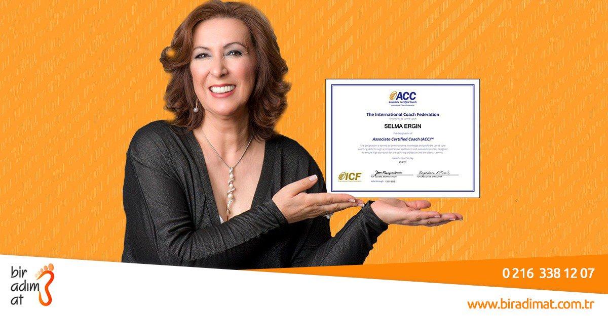 Selma Ergin | ICF Global Associated Certified Coach (Uluslararası Koçluk Federasyonu - Akredite Üye Koç)